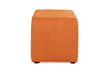 Ottoman Cube - Orange (Ottomans) in Orlando