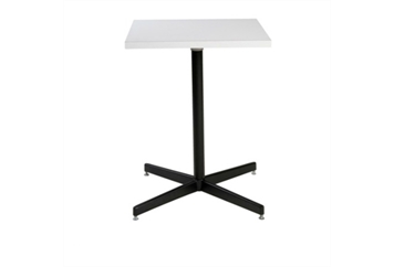Spectrum Black Base White Top Cafe Table (Tables - Cafe) in Orlando
