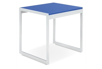 Aria Blue End Table (Tables - End) in Orlando