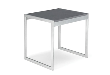 Aria Charcoal End Table (Tables - End) in Orlando