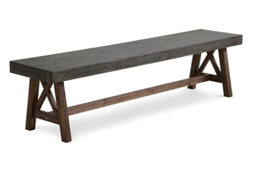 Wood and Stone Element Bench (Benches) in Orlando