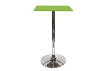 Spectrum Tulip Base Green Top Highboy Table (Tables - Highboy) in Orlando