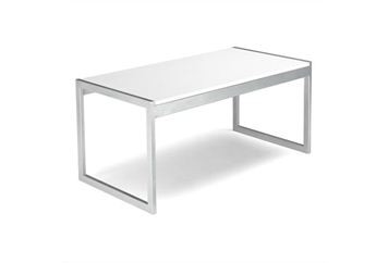 Aria White Coffee Table (Tables - Coffee) in Orlando