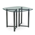 Café-Tables-Vivid-Square-Café-Table-Clear-Metal-Glass