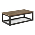 Coffee-Tables-Civic-Cocktail-Table-Brown-Metal-Wood