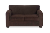 Love-Seats-Bella-Chocolate-Loveseat-brown-suede