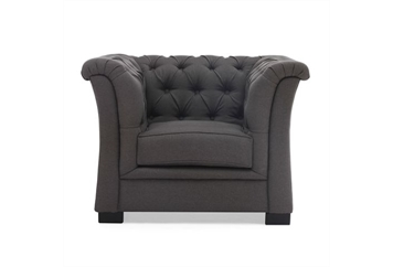 Nob Hill Gray Chair (Chairs - Accent and Lounge) in Orlando