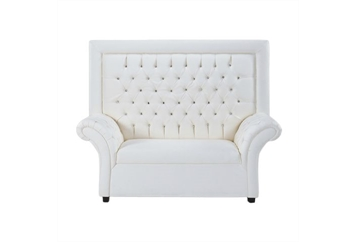 Crystal Tufted Loveseat (Loveseats) in Orlando