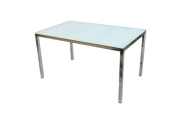 Dining Table Frosted Glass Top (Tables - Dining) in Orlando