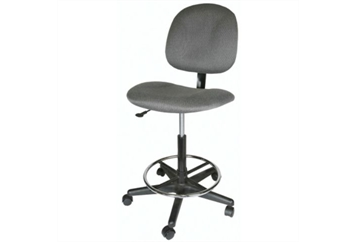 Drafting Chair Gray (Chairs - Office) in Orlando