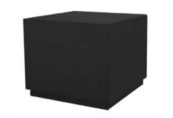 Laredo Cube End Table Black Charged (Charging Furniture) in Orlando