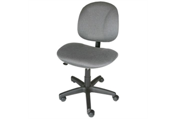Secretarial Chair Gray (Chairs - Executive) in Orlando