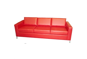 South Beach Red Sofa (Sofas) in Orlando