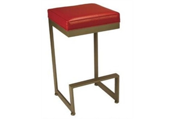 Square Barstool Red (Barstools) in Orlando