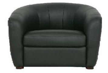 Club Chair - Black (Chairs - Accent and Lounge) in Orlando