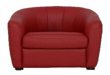 Club Chair-Red (Chairs - Accent and Lounge) in Orlando