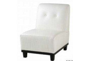 Eccentric White Chair (Chairs - Accent and Lounge) in Orlando
