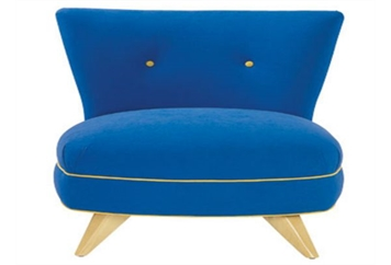 Portly Chair Cobalt Blue (Chairs - Accent and Lounge) in Orlando