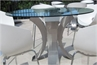 Heavy Metal Dining Table Round (Tables - Dining) in Orlando