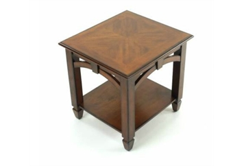 Mahogany Arch End Table (Tables - End) in Orlando