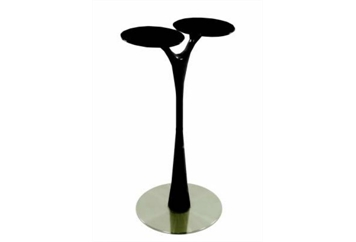 Vogue Highboy Table Black (Tables - Highboy) in Orlando