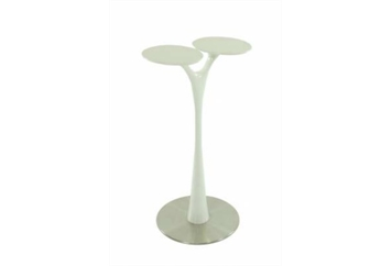 Vogue Highboy Table White (Tables - Highboy) in Orlando