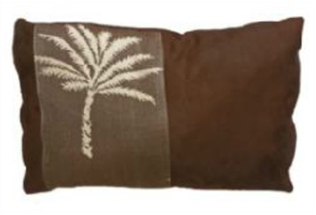 Pillow Small Brown Palm (Pillows) in Orlando