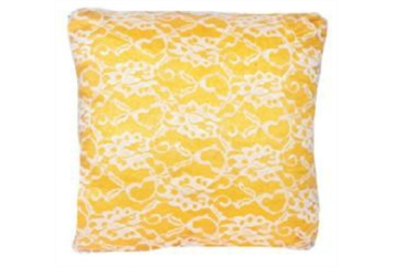 Pillow White and Yellow Design (Pillows) in Orlando