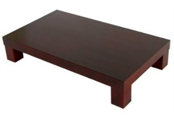 Domus Mahogany Coffee Table (Tables - Coffee) in Orlando
