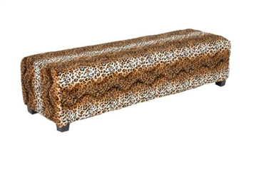 Minotti Bench - Leopard (Benches) in Orlando