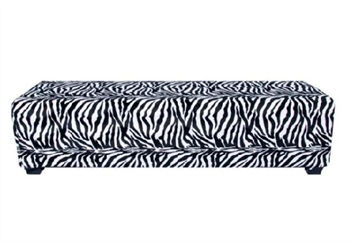 Minotti Bench - Zebra (Benches) in Orlando
