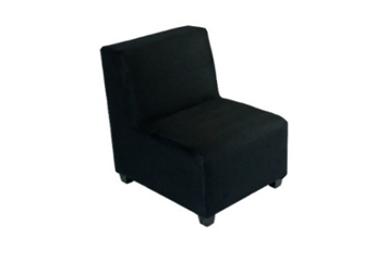 Minotti Sectional Chair - Black (Chairs - Accent and Lounge) in Orlando