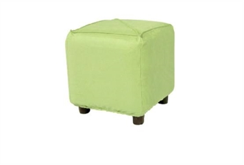 Minotti Cube Ottoman - Light Green (Ottomans) in Orlando