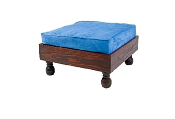 Moroccan Ottoman Blue Cushion (Ottomans) in Orlando