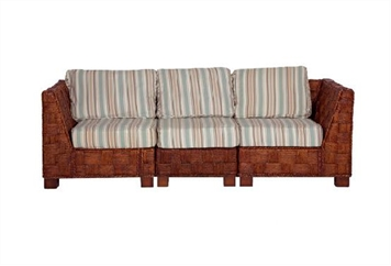 Summer Breeze Striped Sofa Sectional (Sofas) in Orlando