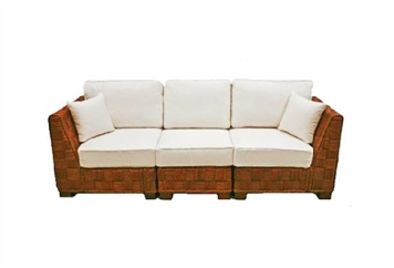 Summer Breeze White Sofa Sectional (Sofas) in Orlando