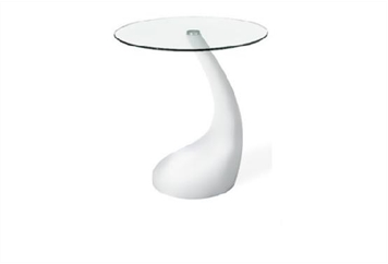 Tear Drop End Table (Tables - End) in Orlando