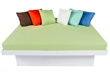 Lounge Bed - White and Green (Beds) in Orlando