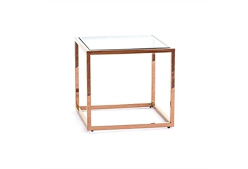 Buck End Table Gold (Tables - End) in Orlando