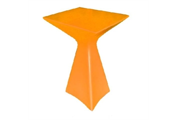 Delta Highboy Table Orange (Tables - Highboy) in Orlando