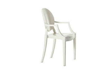 Ghost White Chair With Arms (Chairs - Dining) in Orlando