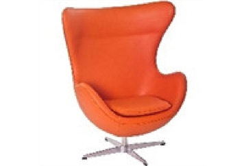 Jack Chair Orange (Chairs - Accent and Lounge) in Orlando
