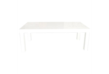 Parson White Dining Table (Tables - Dining) in Orlando