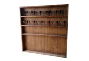 Western Bar Shelf (Bar Backs and Shelving) in Orlando