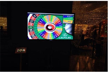 Prize Wheel Medium (Casino Games) in Orlando, Florida