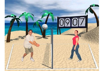 Volleyball Virtual Reality (Arcade Games) in Orlando