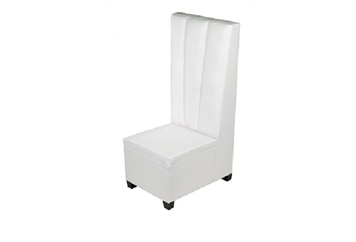 High Back White Chair Sectional (Chairs) in Orlando, Florida