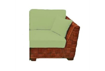 Summer Breeze Green Corner Sectional (Chairs) in Orlando, Florida