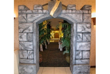 Castle - Stone Entry (Scenic Vignette) in Orlando, Florida