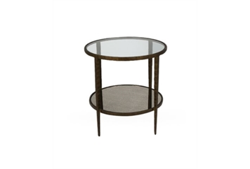 Brass End Table (Tables - End) in Orlando